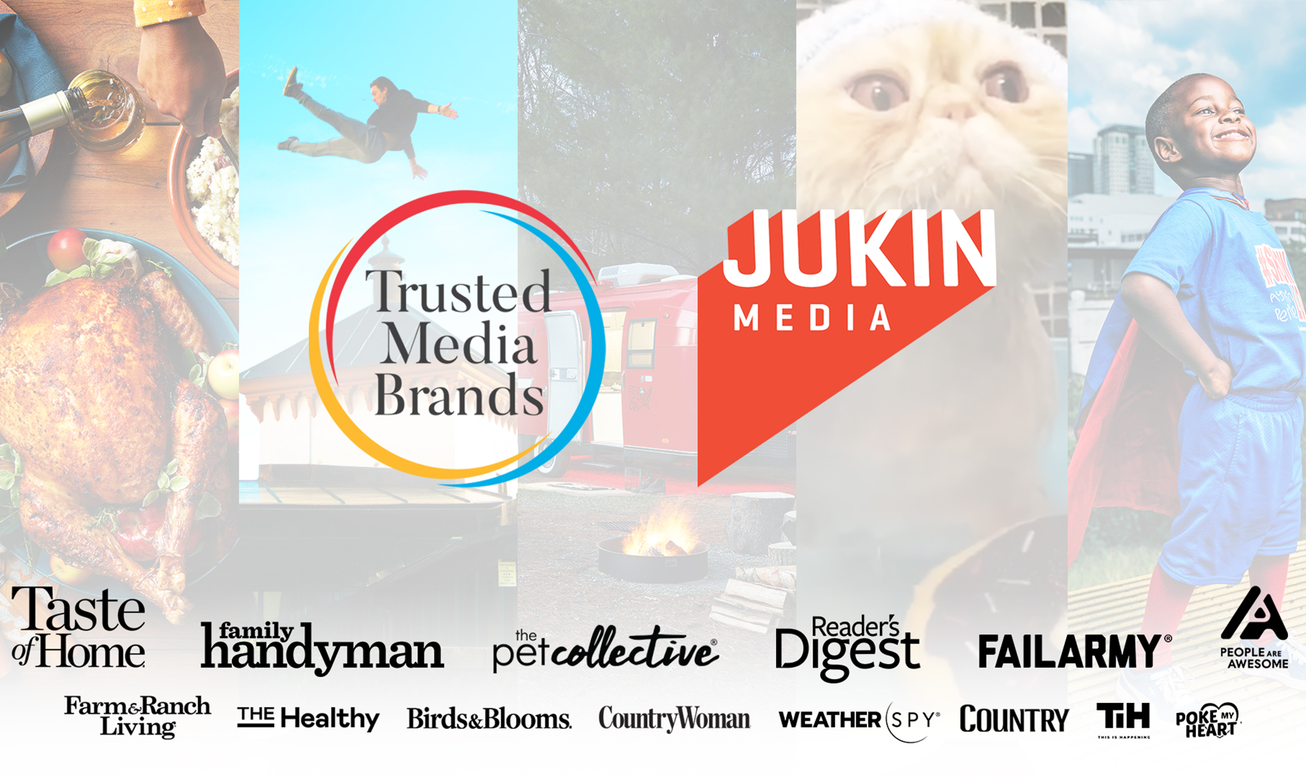Jukin Media Acquired By 'Reader's Digest' Owner Trusted Media Brands